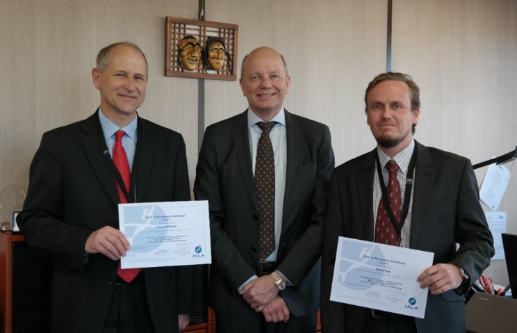 First Distance Learning Certificates awarded to Simon from the UK and Adam in Papua New Guinea